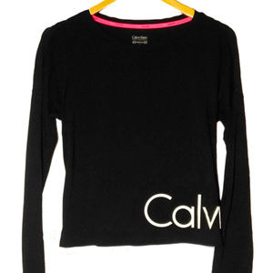 Calvin Klein Performance Stretch Long Sleeve Shirt